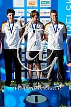 RUDOW Marc, KAHLLUND Florian, WIESER Felix -GER Nemcija-