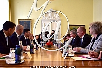 Sauli NIINISTO -predsednik Finske-, Marjan SAREC -predsednik Vlade Slovenije-