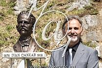 Edin SCUK avtor spomenika Ivanu Cankarju