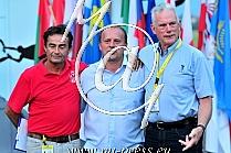Patrice GIRARDIN -FAI controller-, Zlatan CRNALIC -Meet director, Graeme WINDSOR -president FAI IPC-