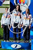 SAVENKOVA Alexandra, KHLYSTOVA Sofia, SHEMONAEVA Olga -RUS Rusija-