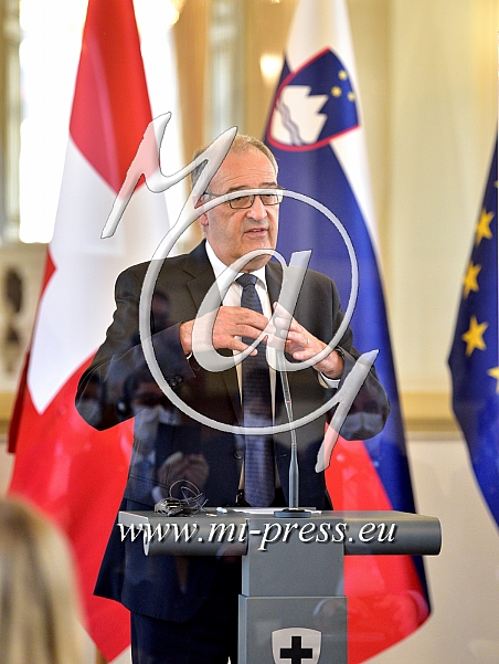 Guy PARMELIN -predsednik Svice-