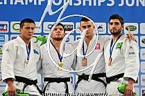 -90kg 1.Gviniashvili GEO, 2.Yessen KAZ, 3.Ciechomski POL, 3.Silva BRA