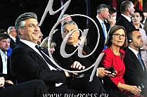 Andrej PLENKOVIC -Predsednik vlade Hrvaske-, Viktor ORBAN -Predsednik vlade Madzarske-