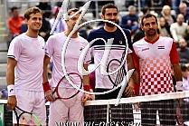 Vasek POSPISIL, Daniel NESTOR -CAN Kanada-, Marin CILIC, Ivan DODIG -CRO Hrvaska-