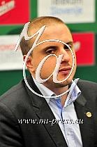 Matej Bergant tiskovni predstavnik KK Union Olimpija