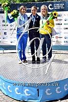 1. Stefanie HORN ITA, 2. Eva TERCELJ SLO, 3. Viktoriia US UKR