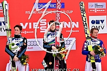 Planica Today: 1. TEPES Jurij SLO, 2. PREVC Peter SLO, 3. VELTA Rune NOR