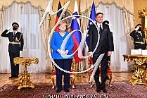 Angela MERKEL -nemska kancelarka-, Borut PAHOR -Predsednik Slovenije-
